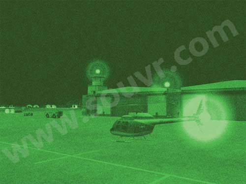 CatalystSE™geo特定合成环境夜视图像